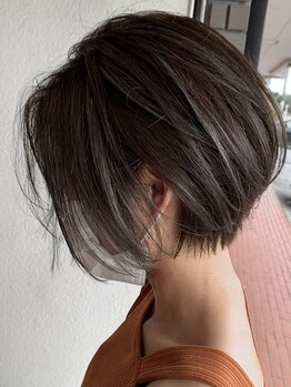 エルズ(L★s)の写真/エルズのノンブローカットはお客様から大人気です♪これなら自宅で自分1人でも上手にヘアセットできる!!