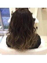 ヘア デザイン セン(hair Design Sen)グラデーションカラー