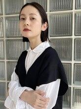 ソラ 学芸大学店(SORA)【SORA/学芸大学】黒髪切りっぱなしボブ外ハネ