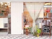 リッカ(ricca)の雰囲気(フランスの可愛い隠れ家を思わせる店内へは、この外観が目印♪)