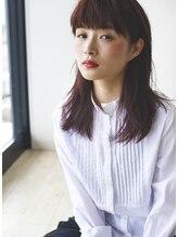 ヒューハ(HUHA)秋色ベリーピンクカラースタイル by BEN