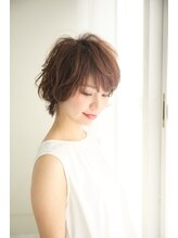 ヘアーズ ベリー 茨木店(hairs BERRY)エアリーショート/ゆるくしゃショート