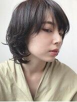 ヘア デザイン エシレ(Hair design esille.)ナチュラルマッシュウルフ