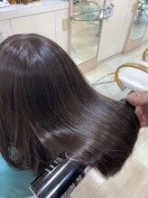 ヘアメイクルーボ(HAIR MAKE Lu bo)『Lu-bo髪質改善ストレートNo.2』 【早稲田】