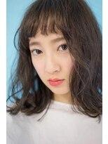 ヴィークス ヘア(vicus hair)シフォンベージュ×外ハネボブ by 井上瑛絵