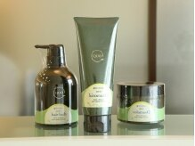 ヘアアンドフェイスグリーンピース Hair+Face Green Peaceの雰囲気(髪に優しい商品を豊富に取り揃えております。)