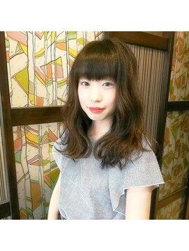 グランヘアー 南店(GRAN HAIR)ミディアム☆ラフウェーブ
