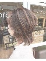 ソラ ヘアデザイン(Sora hair design)お手入れ簡単、ウルフレイヤー