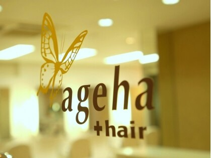 アゲハ プラス ヘア(ageha + hair)の写真