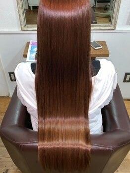 チアフル(Cheerful)の写真/『髪質改善』で憧れのサラ艶髪に♪たっぷりと時間をかけ髪に栄養と美容成分を集中補給☆髪の芯から栄養を…