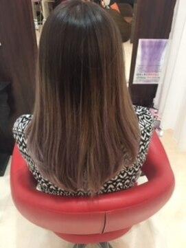 ヘアーメイク カリユ(HAIR MAKE kariyu)ラベンダーアッシュグラデーションカラー