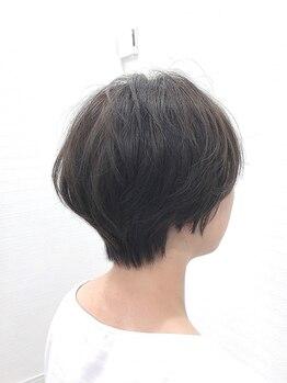 ミミックヘアー(MiMic hair)の写真/【圧倒的な技術力が人気◎】頭の形や骨格、髪質に合わせて一番似合うヘアスタイルをご提案♪【桐生美容室】