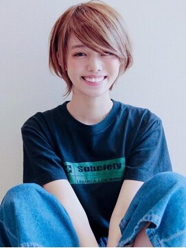 アグ ヘアー ピリカ 千歳店(Agu hair pirca)《Agu hair》色っぽカジュアルショート