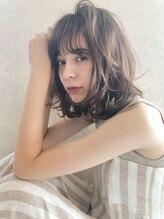 レニーバイエース(LANY by ACE)【LANY 横浜】小顔シースルーバング×大人可愛いラテベージュ