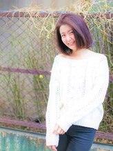 グランバイ アトリエドングリ(Grand × AtlierDonguri)髪質改善グレージュボブ