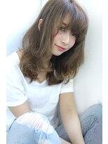 【Blanc】3Dカラー×ラフセミロング