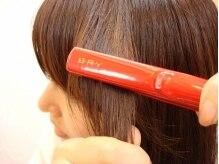 クラブヘアー パッション(CLUB HAIR PASSION)の雰囲気(アイスアイロンを使用♪縮毛矯正はダメージ減!!)
