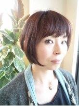 ヘアメイク カシータ(hair make Casita)【前橋美容室Casita】『大人な』ショートボブ。