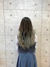 ヘアーデザイン ハック(HAIR Design HaC)【HaC】 グラデーション×ホワイティベージュ
