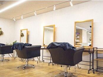 """キートス(kiitos)の写真/【2021年3月OPEN!!】話題の""""髪質改善サロン""""心地良い空間と接客で髪にも心にも潤いを与えてくれるサロン◎"""