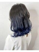 ソース ヘア アトリエ 京橋(Source hair atelier)【SOURCE】サファイアブルー