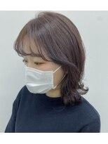ヘアーアイストゥーレ(HAIR ICI TRE)韓国風イヤリングカット