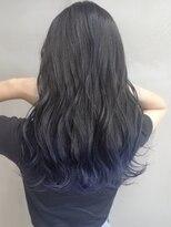 ソース ヘア アトリエ 京橋(Source hair atelier)裾カラー