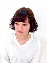ロベック フジガオカ(Lobec FUJIGAOKA)【Lobec fujigaoka】MIXカールでふんわりボブ