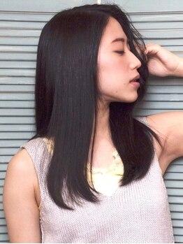 ダイアモンドムーン(DIAMOND MOON)の写真/繰り返す事で髪をベストな状態へと導く【トリートメント】クーポンが人気★貴女も繰り返す程【うる艶髪】♪