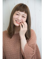 【orange cracker】お手入れ楽ちん短め前髪スタイル!