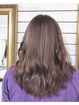 ビーヘアサロン(Beee hair salon)ラベンダーグレージュ