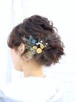 ユニカ ヘアー(UNICA hair)尾道市 美容室 人気 UNICA ヘアアレンジ ヘアセット