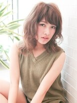 オアシスオーガニックビューティーサロン(oasis organic beauty salon)フリンジバングウェーブミディ☆