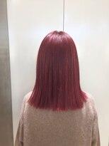 ドット トウキョウ カラー 町田店(dot.tokyo color)【cherry red】ダブルカラーカラーリスト田中
