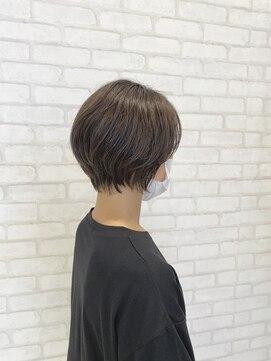ビス ヘア アンド ビューティー 西新井店(Vis Hair&Beauty)30代大人かわいい小顔ショートボブ前下がり