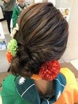 クール ヘアー セッション 本町店(COOL Hair session)緩やか大人アレンジ
