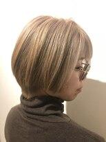 ヘアーリゾートラシックアールプラス(hair resort lachiq R+)《R+》ハイトーンミルクティベージュ
