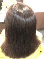 縮毛矯正専門店 高難易度縮毛矯正 矢場町店乾かすだけの酸性縮毛矯正