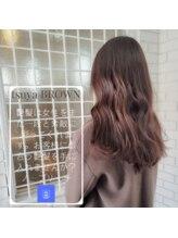 ヘア サロン イチャリ(hair salon ICHARI)韓国風巻きと艶髪【Instagram@hashicutcolor】