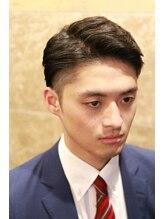 バルビエ グラン 銀座(barbier GRAND)ツーブロックのビジネスショート <理容室>