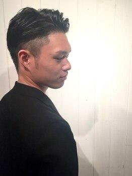 ナチュラルピー 津之江店(Natural.P)の写真/《カット¥2200》扱いやすくモチが良い◎手早く作るセンスの良いスタイルに男性リピーターも多数の人気店!
