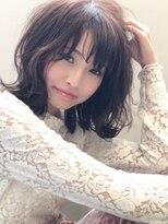 スティル(STILL un label)【オシャレ感UP☆毛先揺れるミディアムBOB】