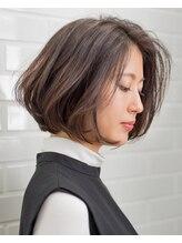 ラテ 自由が丘店 髪質再生のヘアサロン(Latte)【Latte自由が丘】奥行きショートボブ