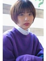 ヘアーアンドメイク シーク 八王子(HAIR&MAKE SeeK)ショートヘア×シースルーバング