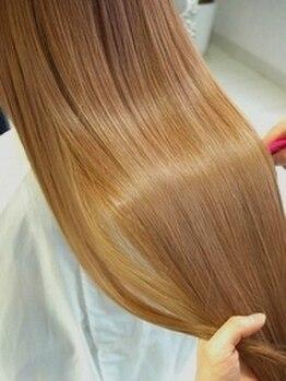 ビレア 極楽店(BELEA)の写真/髪質改善【美髪チャージ】エイジング/ダメージ/癖毛/パサつきも繰り返すほど美しく◎