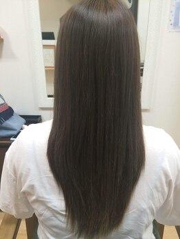 ヘアーズモイ(hair'smoi!)の写真/柔らか質感の極上ストレートが叶う♪自分の髪が好きになるほどナチュラルな仕上りにリピーター続出★