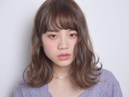 モンステラ ヘアメイク(monstera hair make)の写真