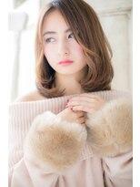 モッズ ヘア 福岡姪浜店(mod's hair)グラマラスセミディで女度UP!