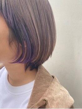 ヘアーラウンジ スリービー (HAIR LOUNGE THREE BEE)の写真/大人女性の魅せるカラーは「さりげないオシャレ感」がポイント♪多彩なカラーバリエーション×発色の良さ◎