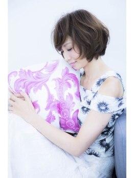 ヘアー アトリエ エゴン(hair atelier EGON)の写真/キレイが持続するから忙しい大人女性にもおすすめ♪非日常空間で贅沢なひと時を☆